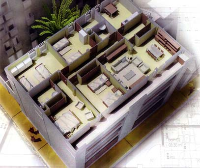 plan appartement 73m2